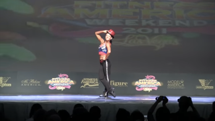 Ruscha Kouril (Fitness World Champion Showdance Routine)